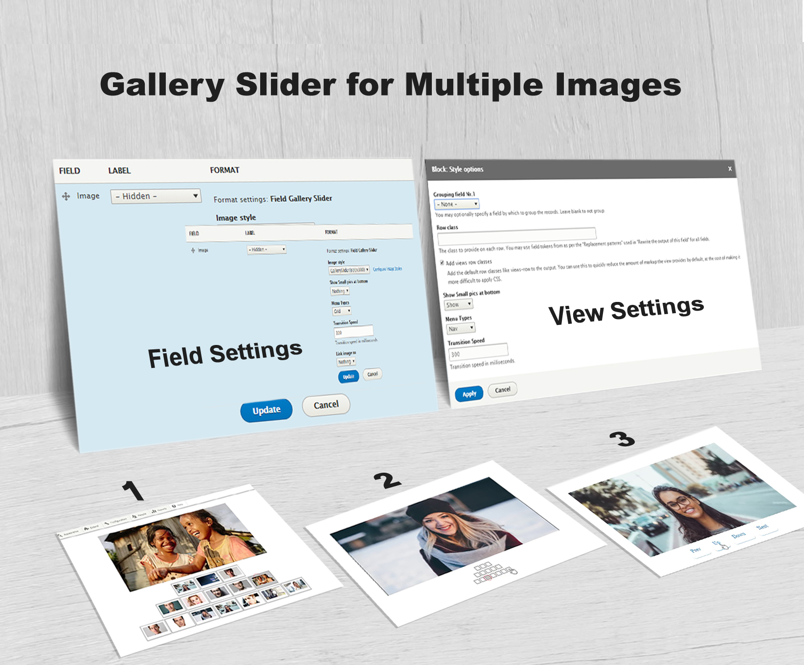 Gallery Slider For Multiple Images Drupal Org