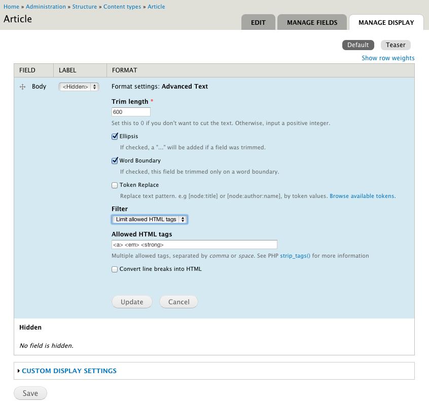 Advanced Text Formatter | Drupal org