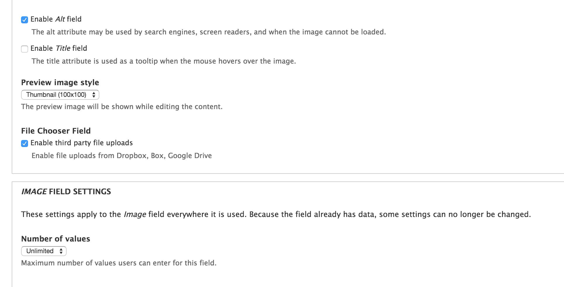 File Chooser Field | Drupal org