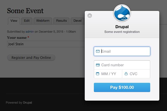 Webform Stripe | Drupal org