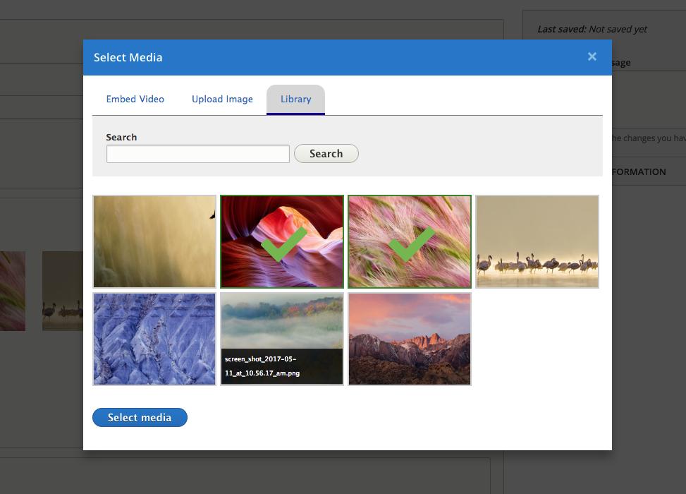 Entity Browser Enhance(d|r) | Drupal org