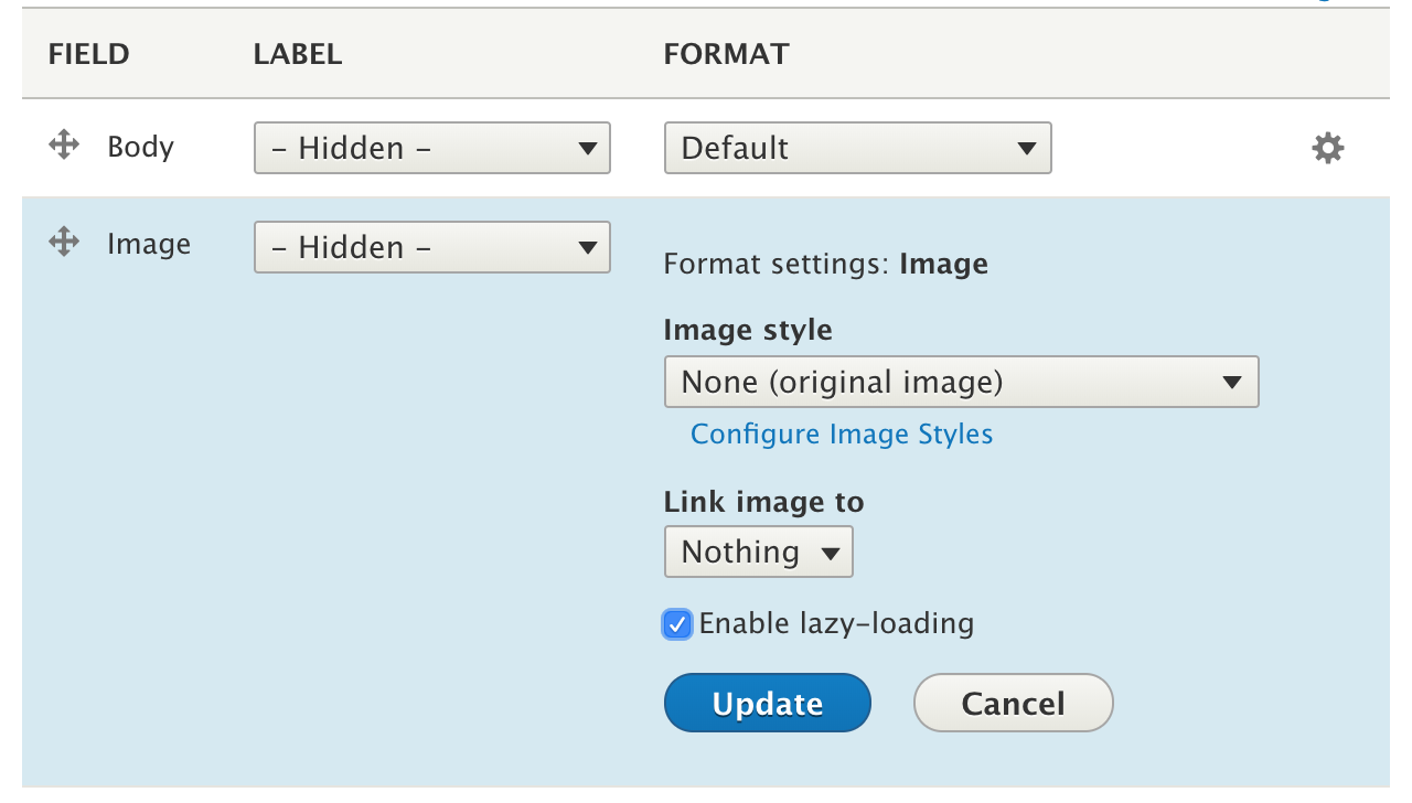 Lazy-load | Drupal org
