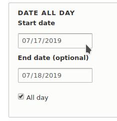 Dating modul Drupal