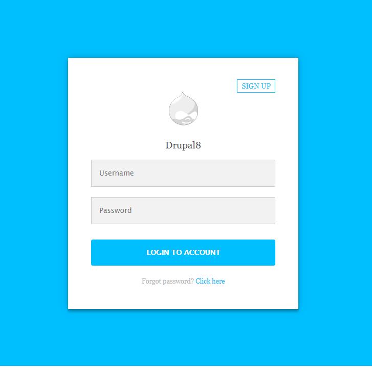 simplelogin drupal org login screen login #1