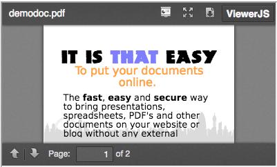 ViewerJS   Drupal org