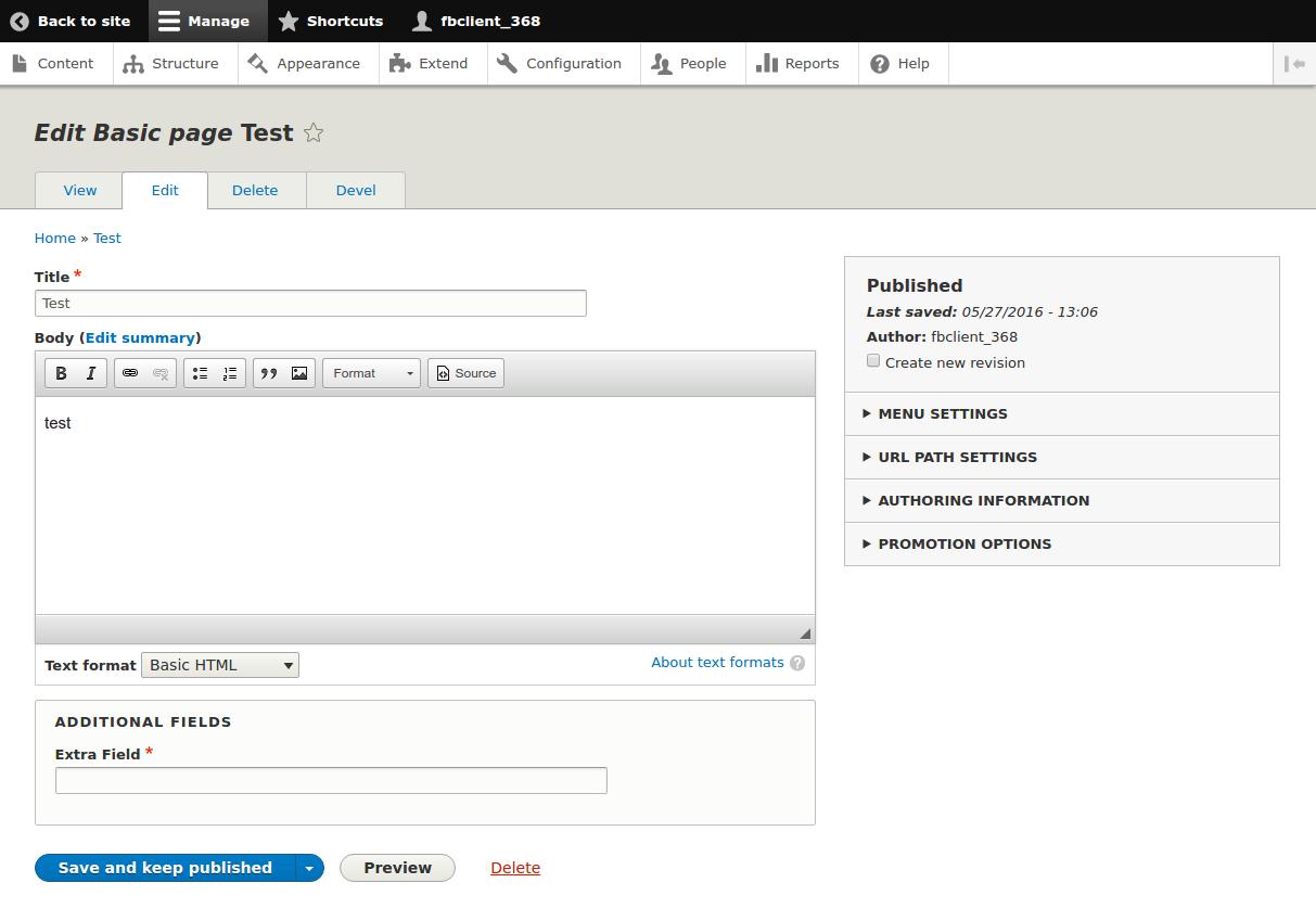 Node Form API Fields   Drupal org