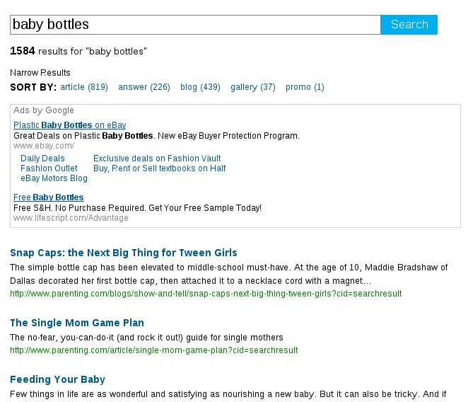 ad search: