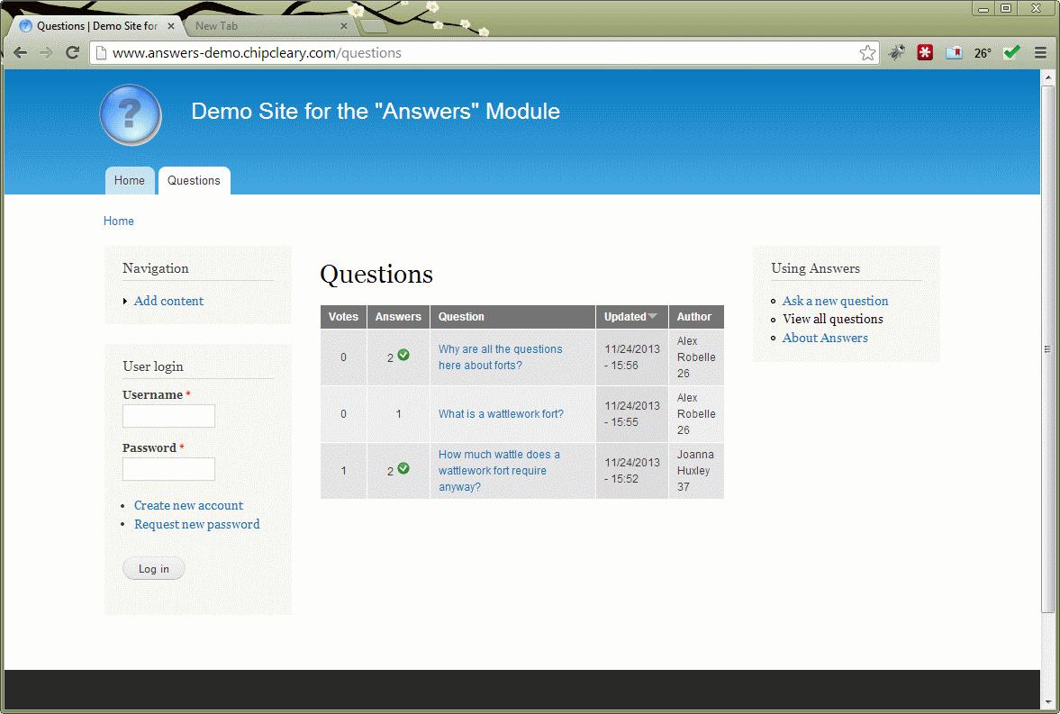 Answers   Drupal org