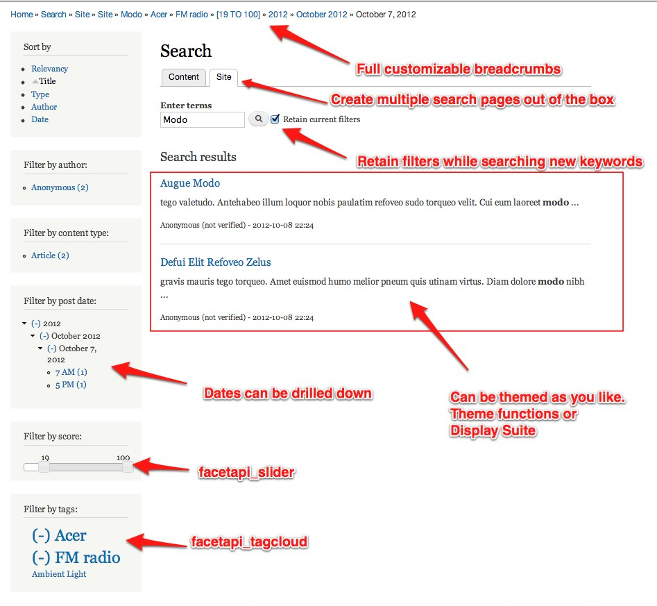 Apache Solr Search | Drupal org