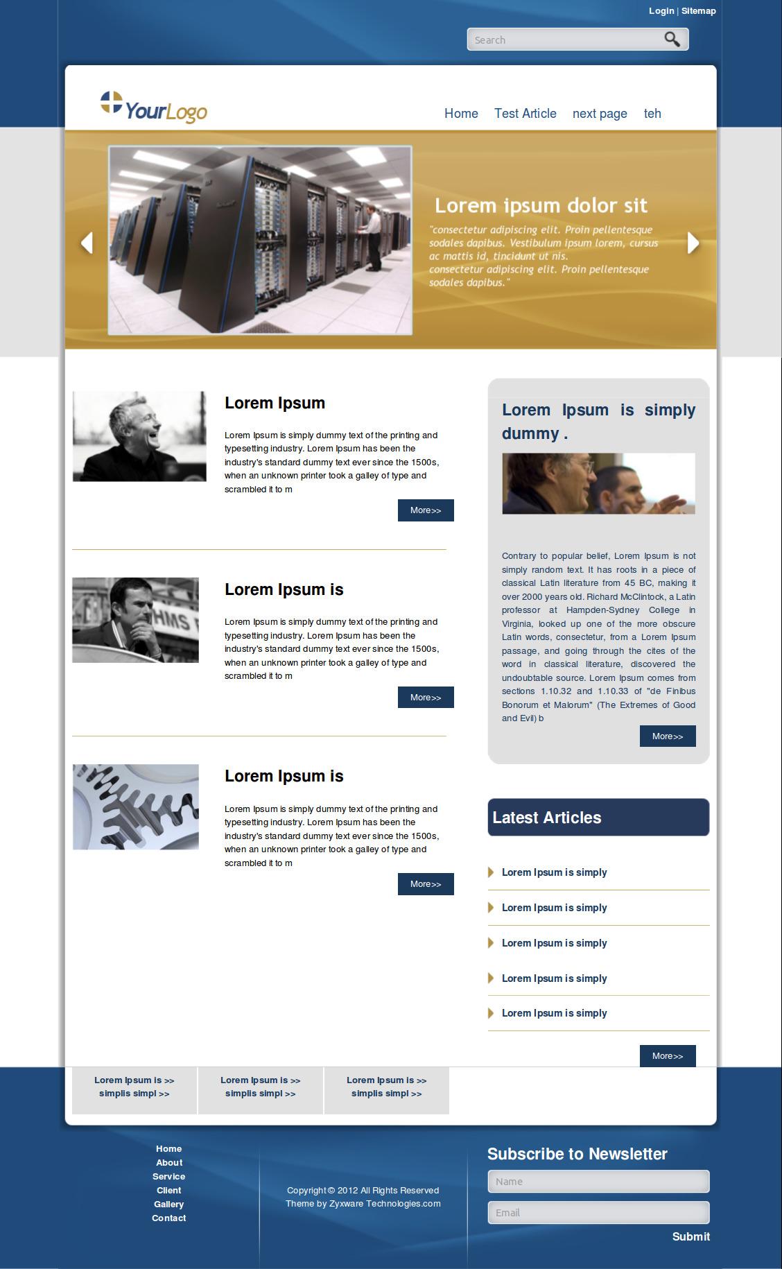 Business Blog Drupal Org