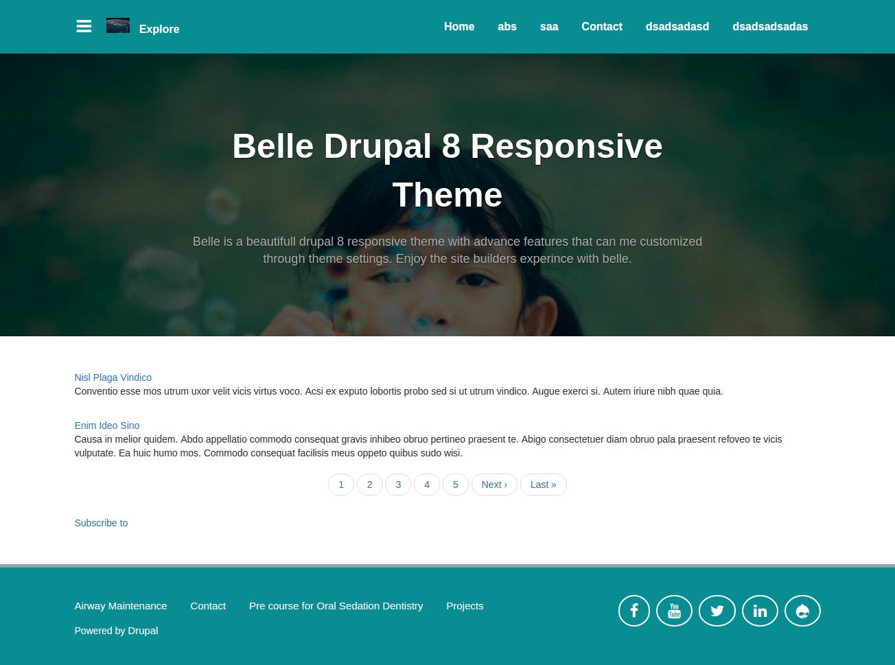 Belle | Drupal org