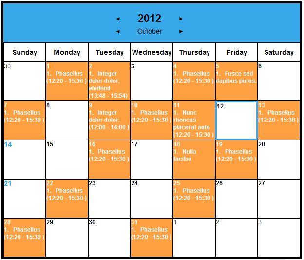 Spider Event Calendar | Drupal.Org