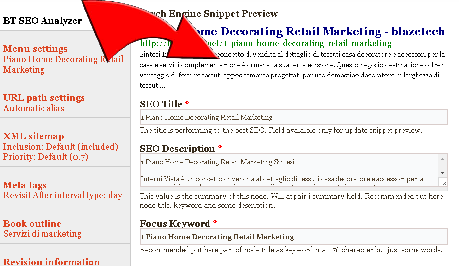 Write Your Post And See The Snippet Preview Of Search Engines