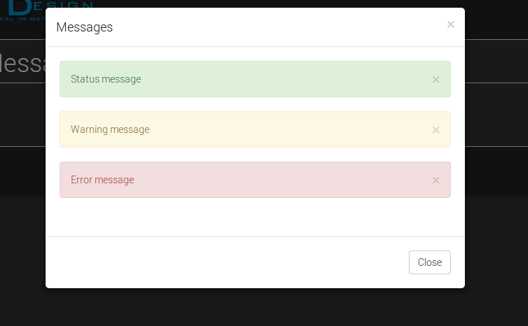 Bootstrap Modal Messages | Drupal org