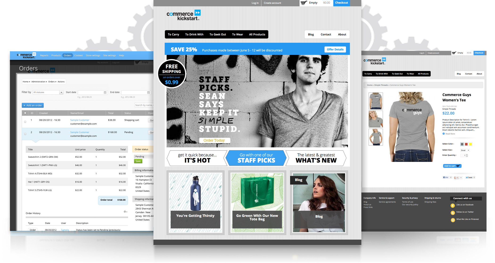 Drupal - Commerce Kickstart V2 Large