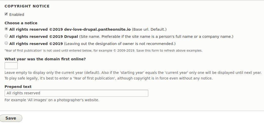 UpTime Widget | Drupal org