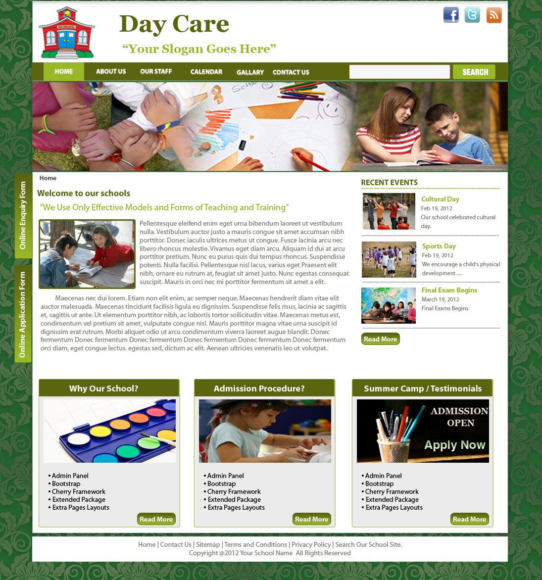 daycare template drupal org daycare playschool theme for drupal is a professional responsive theme for starting your day care website on drupal it is a mobile friendly theme built
