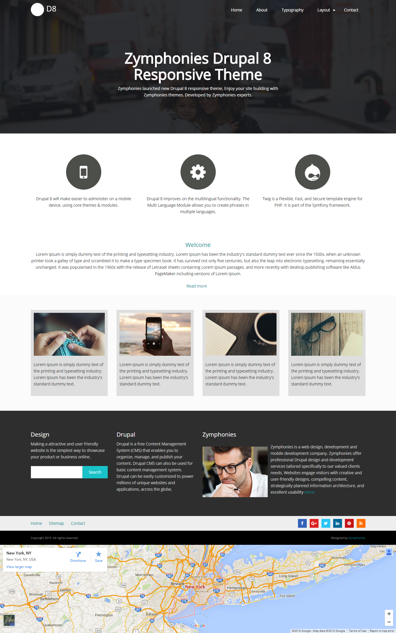 drupal bootstrap themes free download