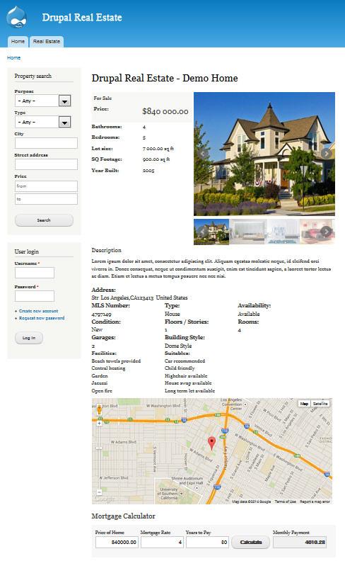 Drupal Real Estate   Drupal org
