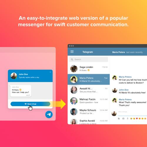 Drupal Telegram Live Chat module   Drupal org
