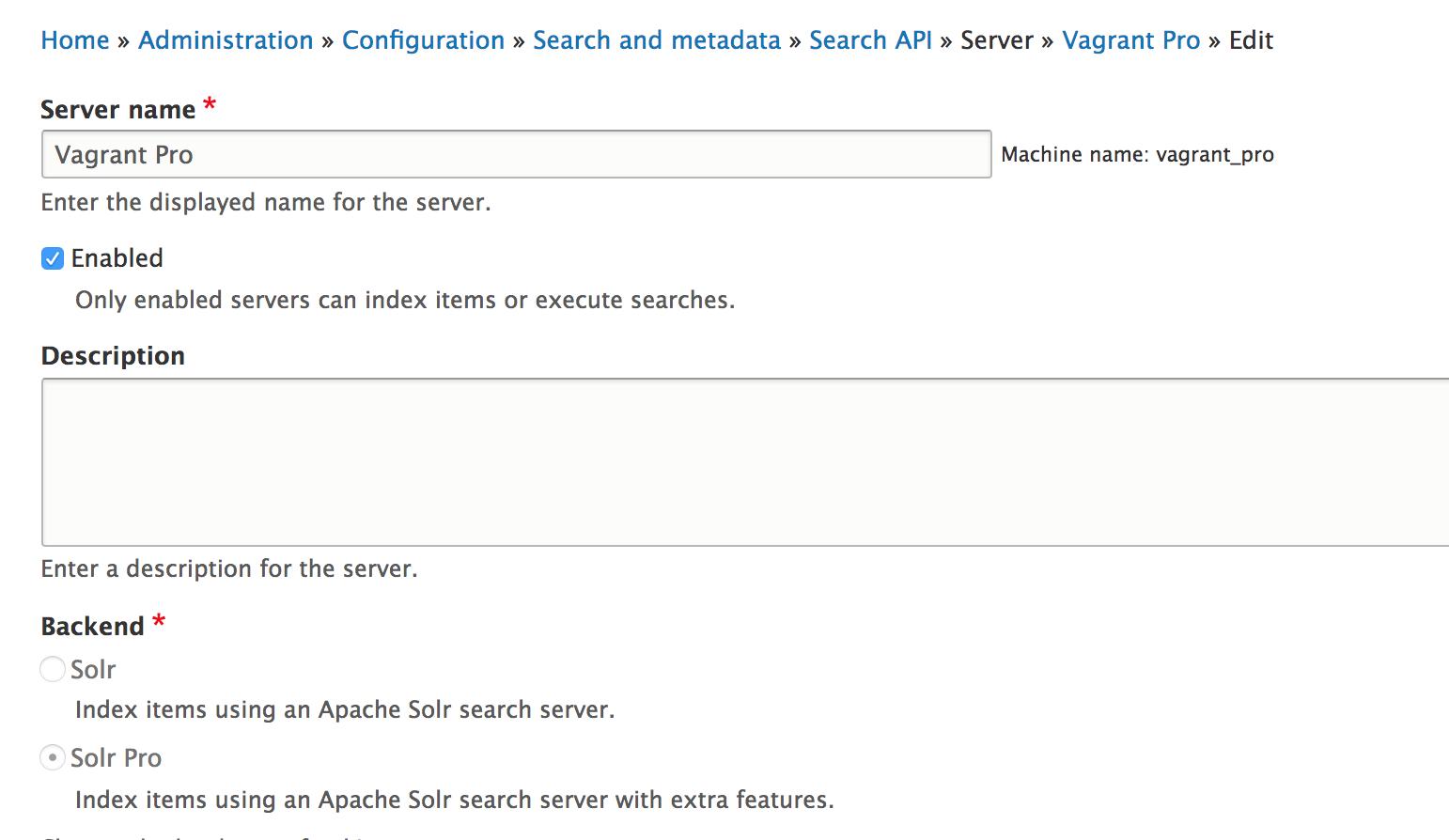 Search API Solr Pro | Drupal org