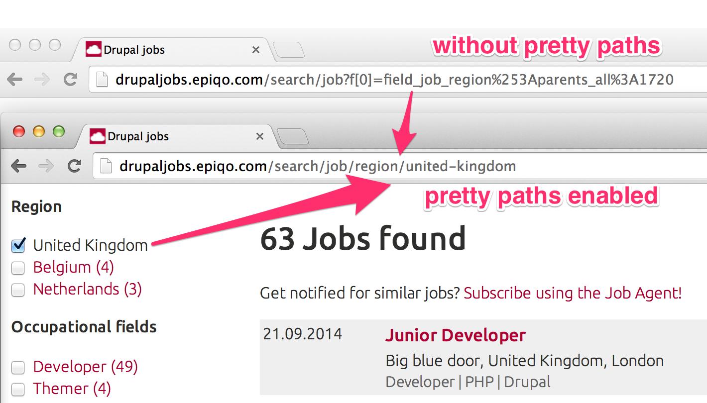 Facet API Pretty Paths | Drupal org