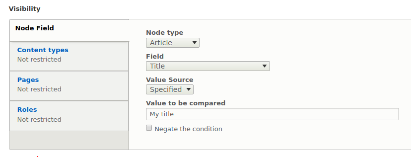 Entity Field Condition   Drupal org