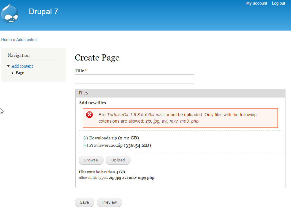 File Resumable Upload Drupalorg