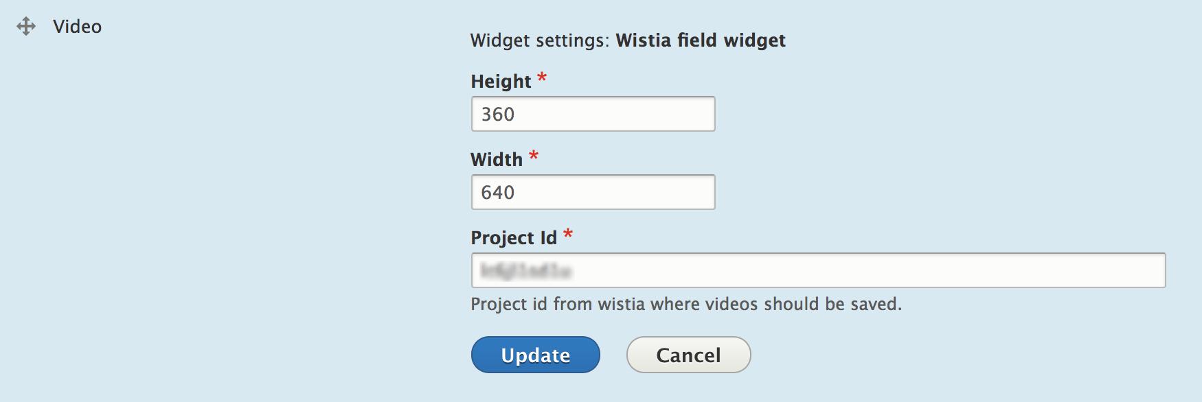 Wistia Integration | Drupal org