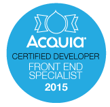 Acquia Certified Front-end Specialist