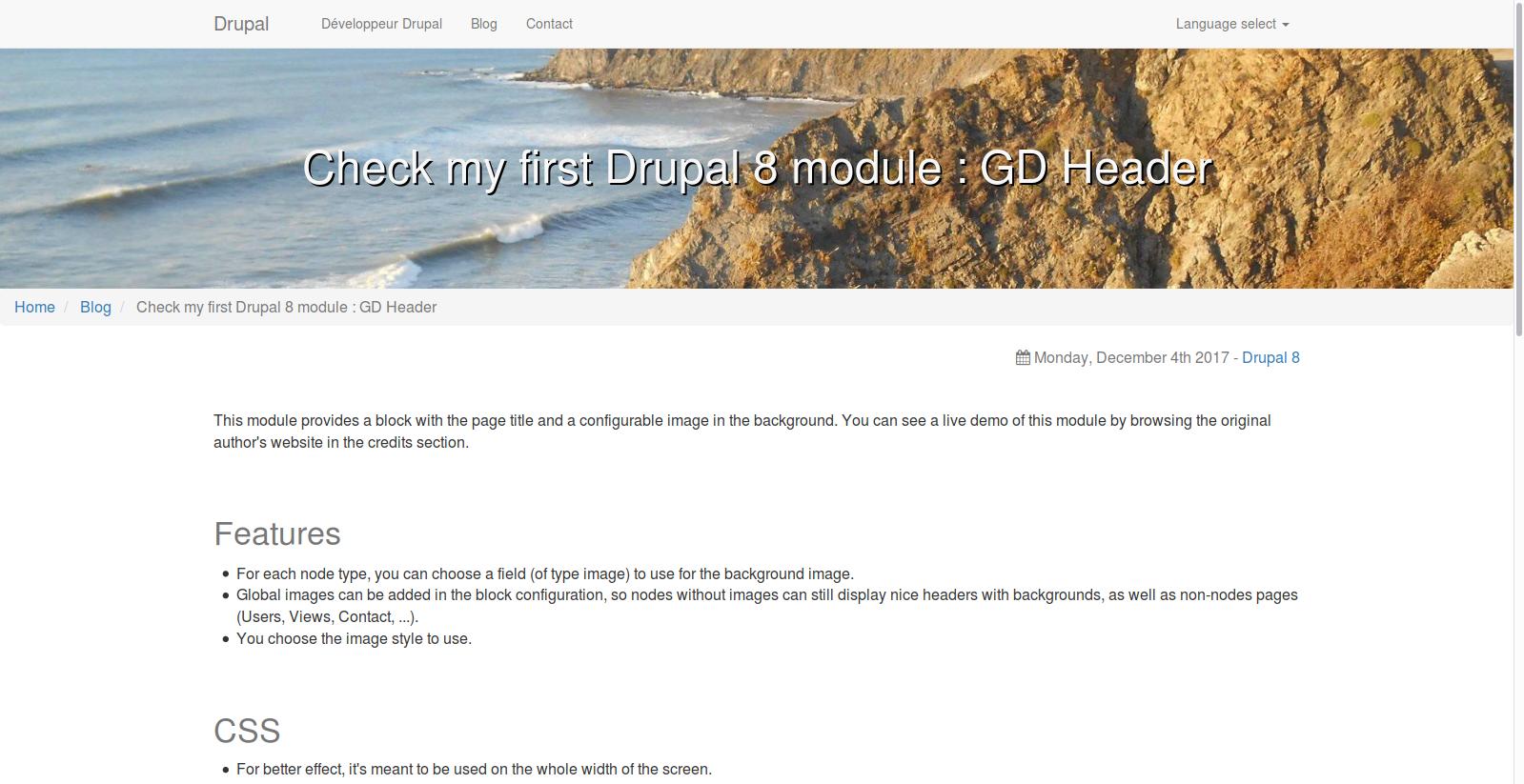 GD Header | Drupal org