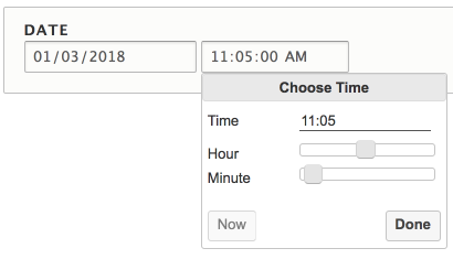 Date Timepicker   Drupal org