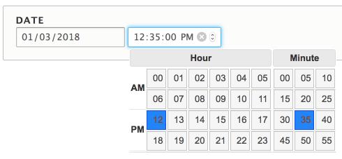 Date Timepicker | Drupal org