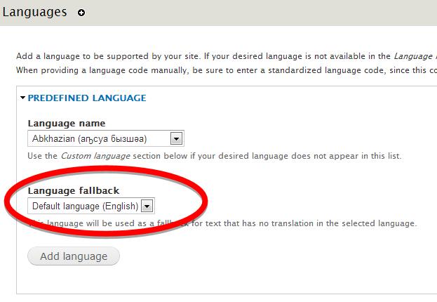 Language fallback   Drupal.org