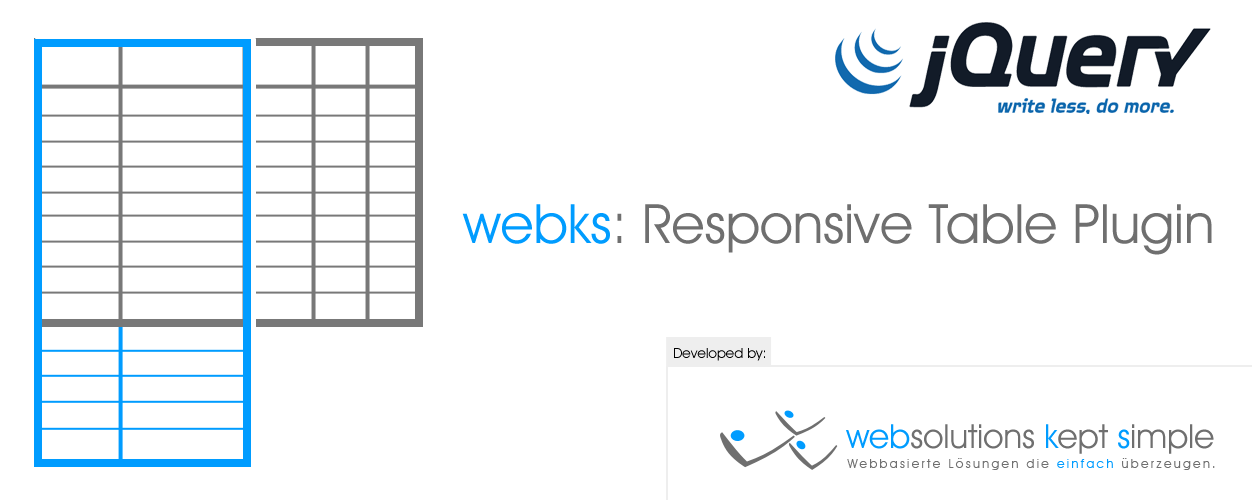 Jquery plugin webks responsive tables logo for Table responsive