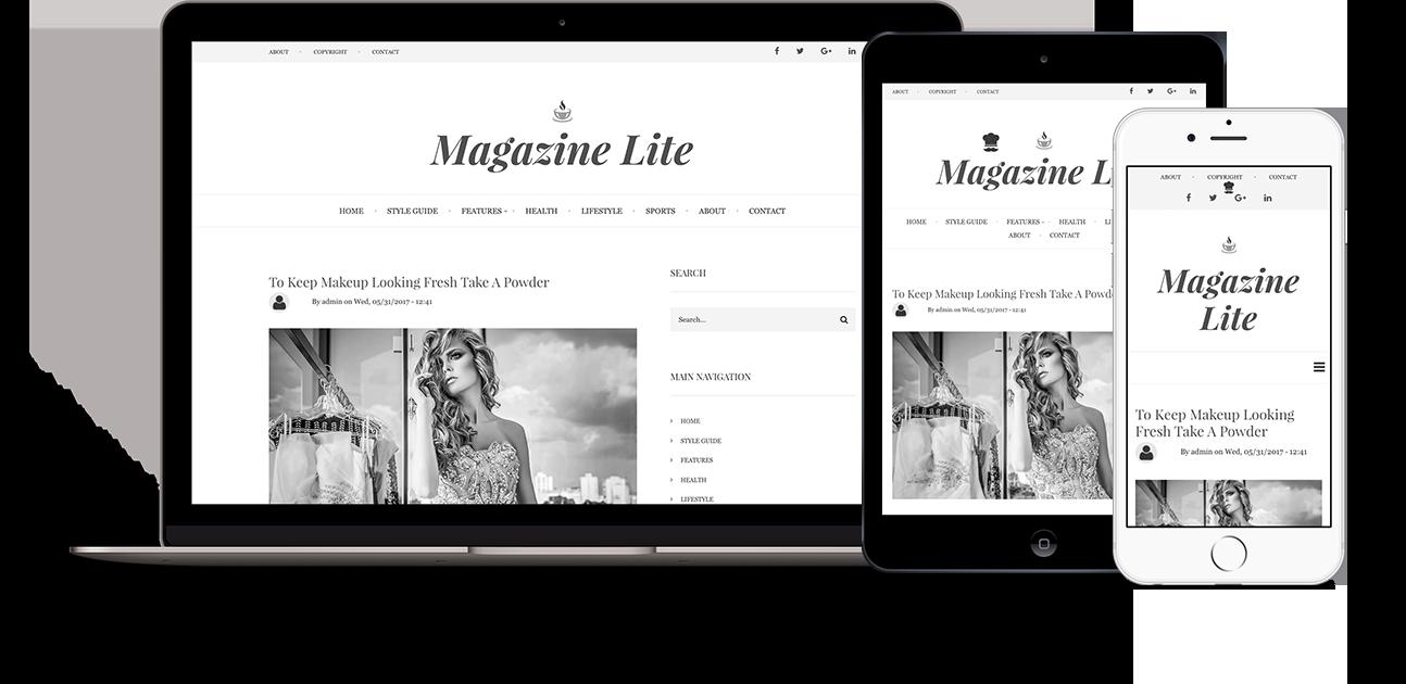 drupal magazine themes