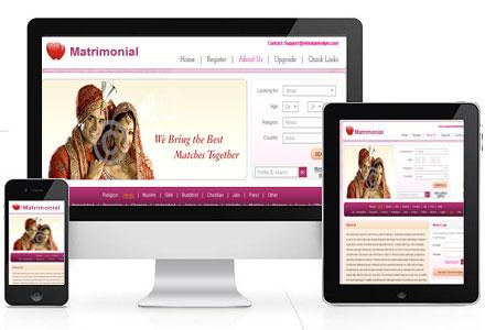 Matrimonial Theme Drupalorg - Matrimonial website templates