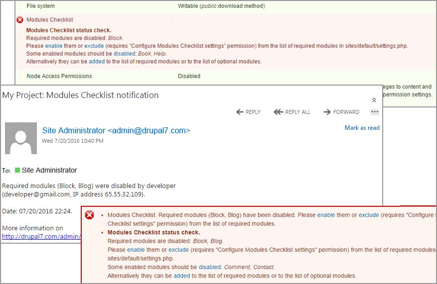 Modules Checklist   Drupal.org
