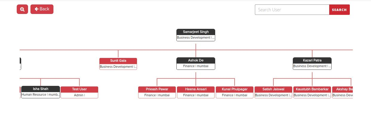 Org Chart Example  DrupalOrg