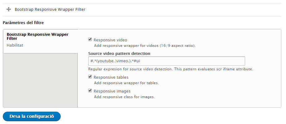 bootstrap table responsive class