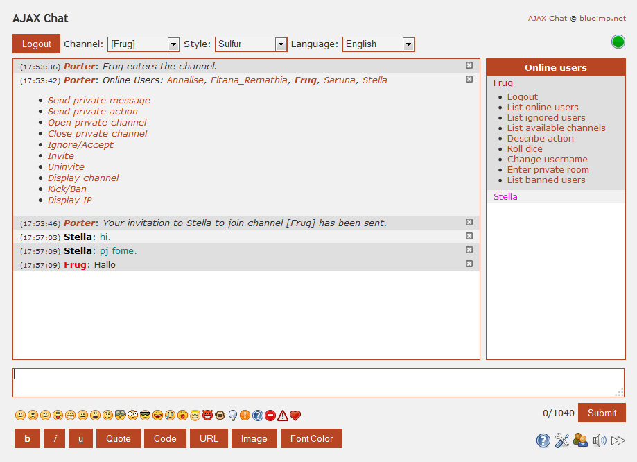 Как сделать свой чат на php - Danetti.Ru
