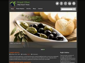 Royal Olive Drupal 7 theme