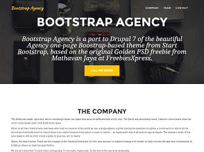 drupal templates bootstrap