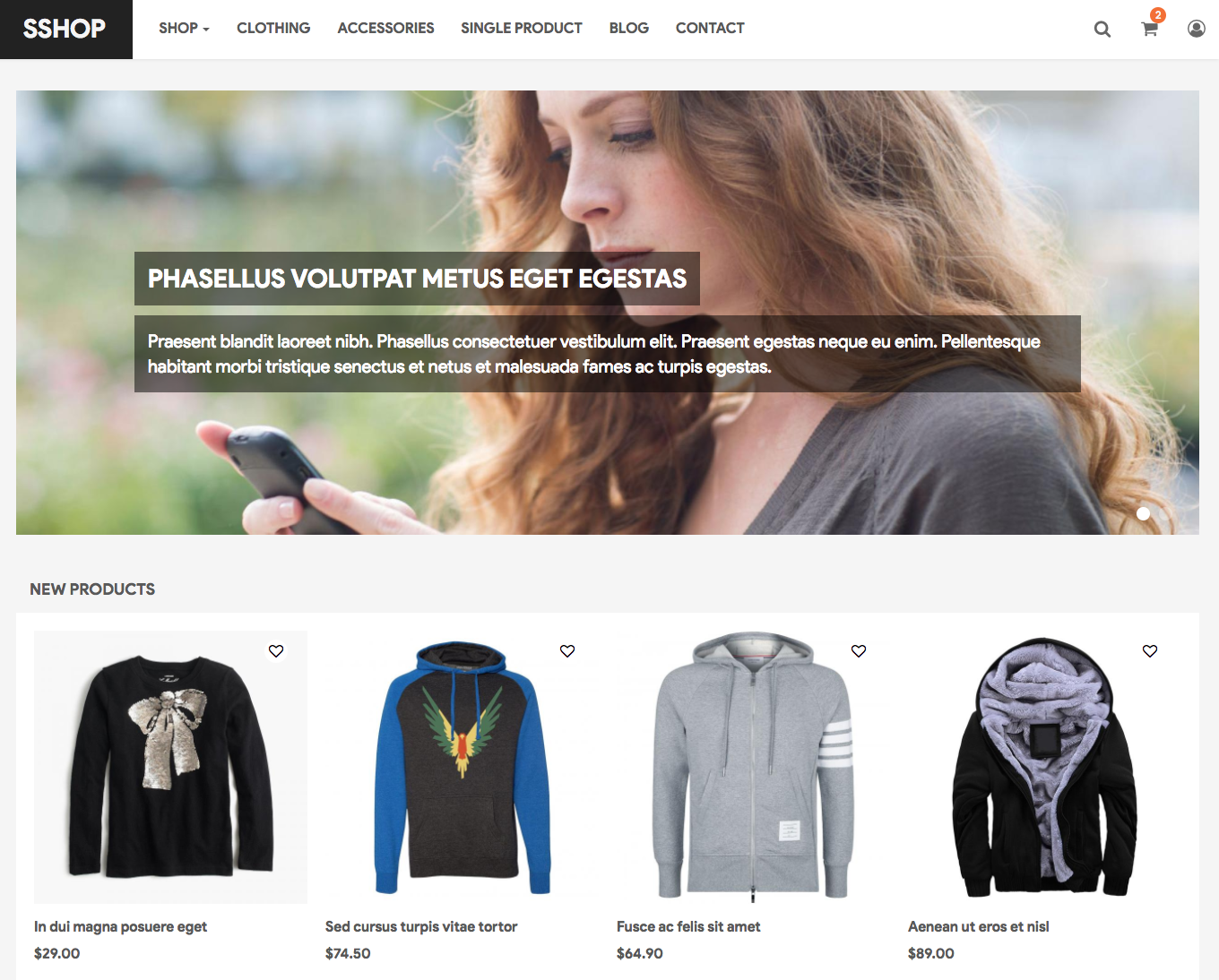 Template 45562 electronic store responsive magento theme | web.