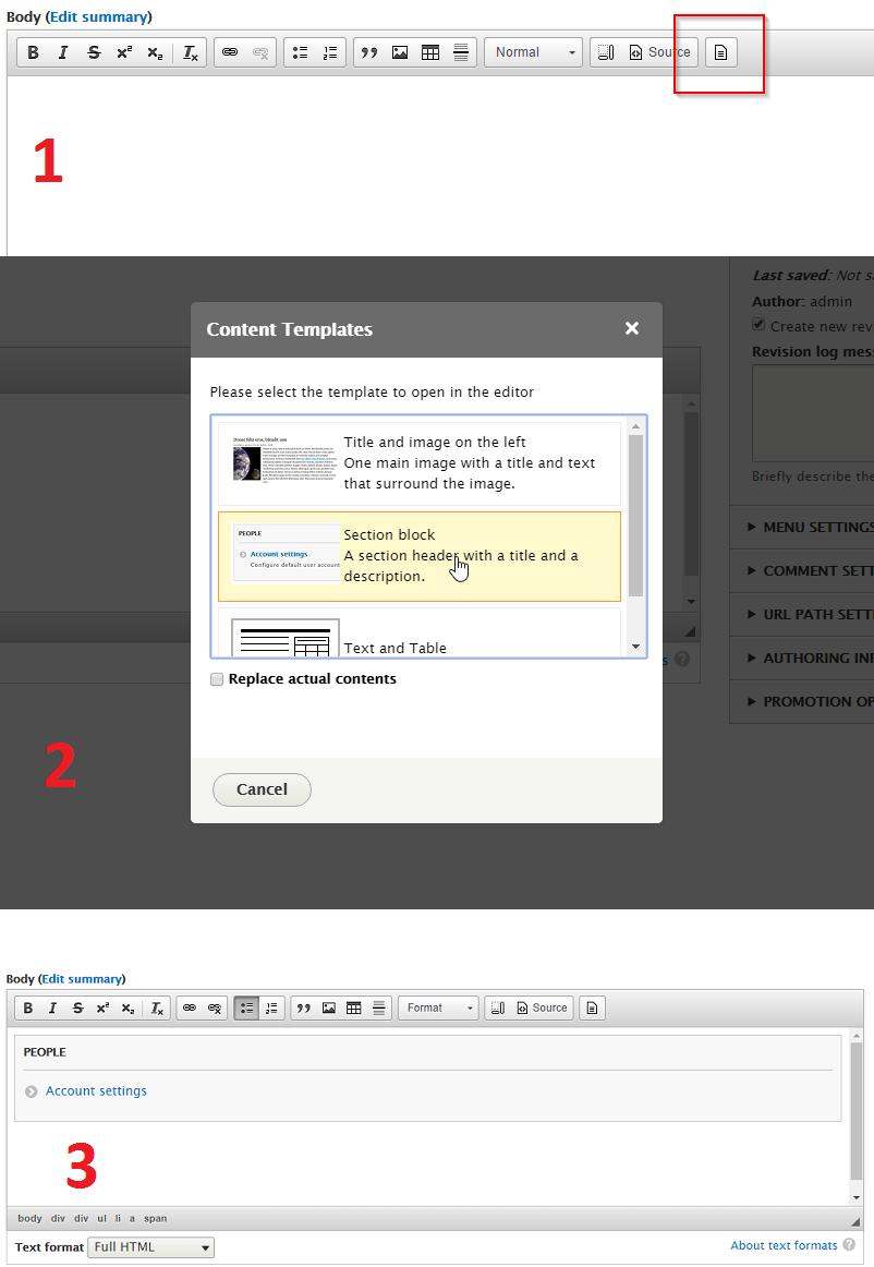Module Screenshots
