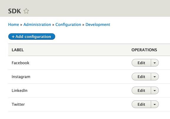SDK API | Drupal.org