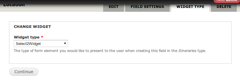Select2 Field Widget | Drupal org