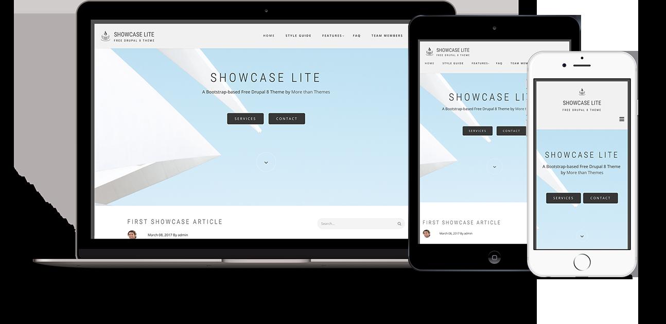 Showcase Lite Drupal