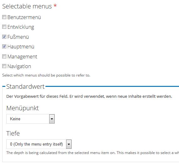 view menu views menu reference drupalorg