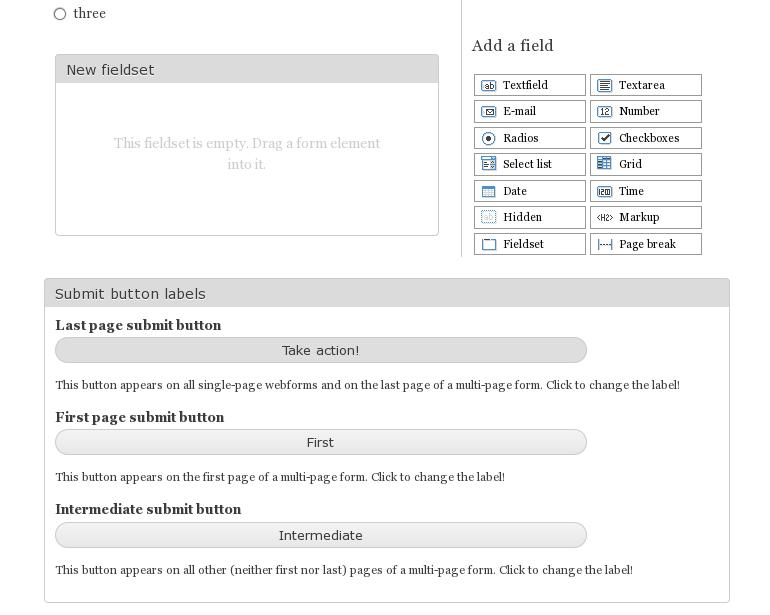 Webform custom buttons | Drupal org